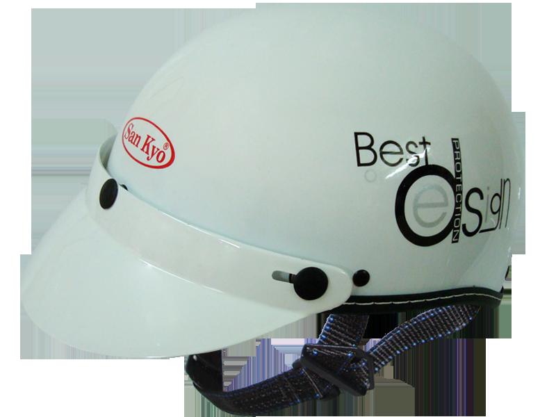 5 9195 - Công ty sản xuất nón bảo hiểm giá rẻ, in logo lên mũ bảo hiểm theo yêu cầu