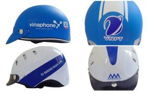 Đặt làm mũ bảo hiểm quảng cáo in logo theo yêu cầu hình ảnh 3