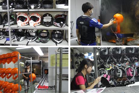 Mũ bảo hiểm giá sỉ Chỉ từ 42k chỉ có tại Xưởng Sản Xuất Mũ – Nón Bảo Hiểm hình ảnh 2