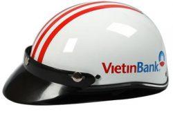 in len mu bao hiem ngan hang viettinbank 250x165 - Đặt làm mũ bảo hiểm quảng cáo in logo theo yêu cầu