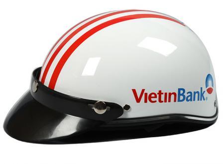 in len mu bao hiem ngan hang viettinbank - Mũ Bảo Hiểm In Logo Cho Công Ty