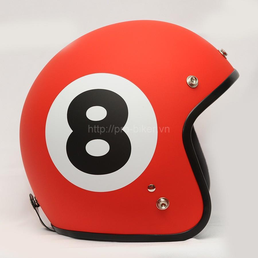 non bao hiem 3 4 dammtrax cafe race shop ban do moto tai dat 16 - Mũ bảo hiểm 93
